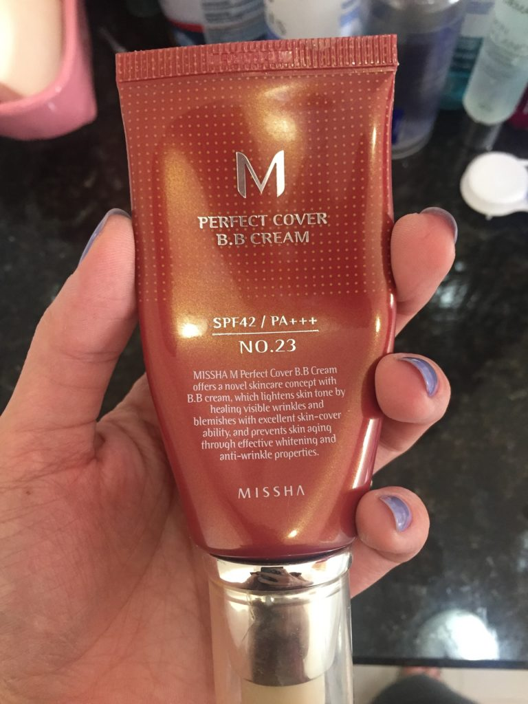 Missha Perfect Cover BB Cream Embalagem